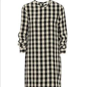 Dresses & Skirts - Equipment Gingham Silk Owen Dress